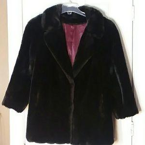 Vintage Faux Fur by Style Ltd Size XXL